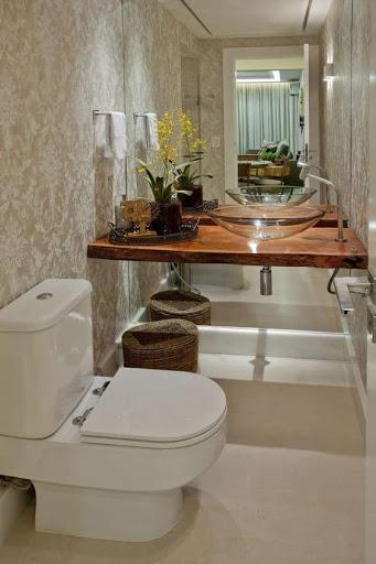 Como organizar banheiro pequeno