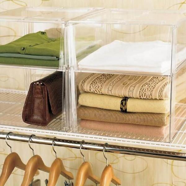 caixa organizadora de plastico-caixa organizadora-organizacao closet