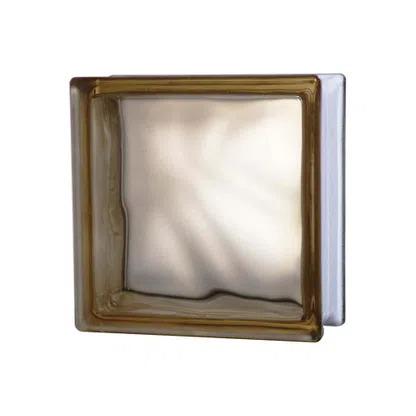 Bloco-de-vidro-19x19cm-marrom-Exclusivo-Telhanorte