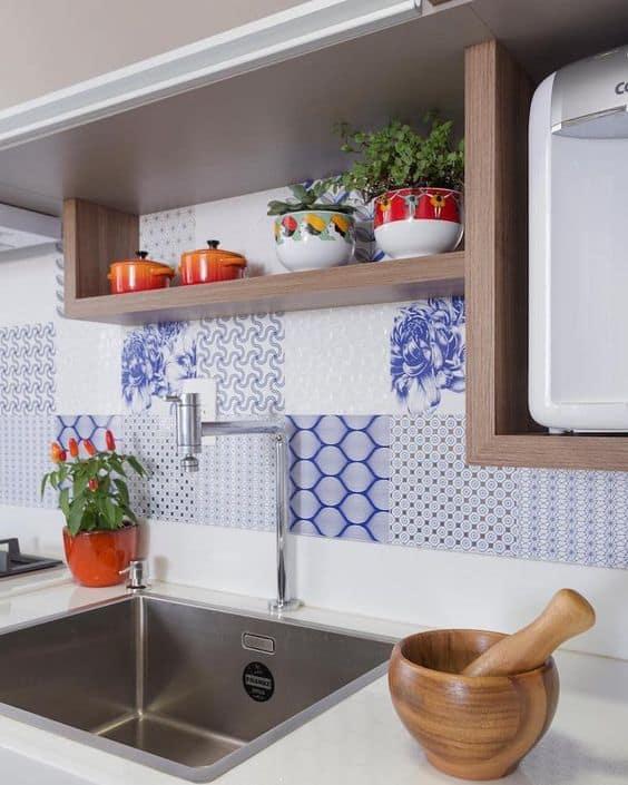 cerâmica ideal para parede de cozinha