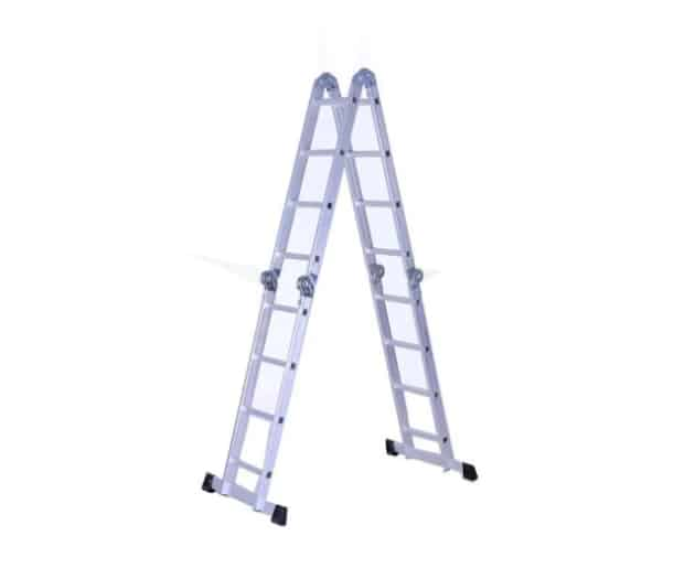 tipos de escadas de aluminio