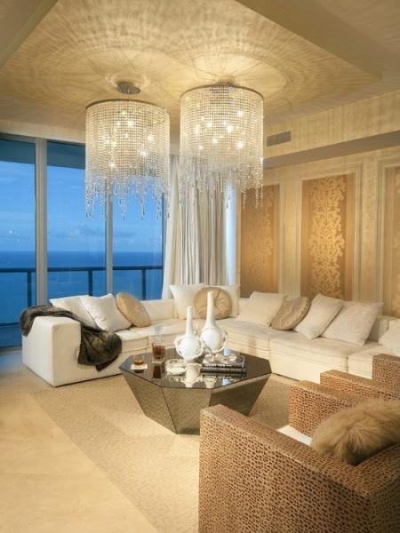 lustre-sala-de-estar-luz-indireta-pinterest