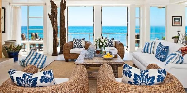 Ideias de decoração de casa de praia