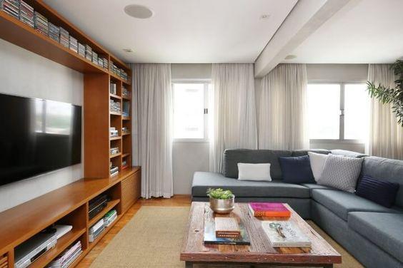 sala-de-estar-sofá-tv