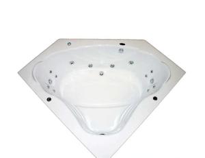 Banheira de hidromassagem de canto
