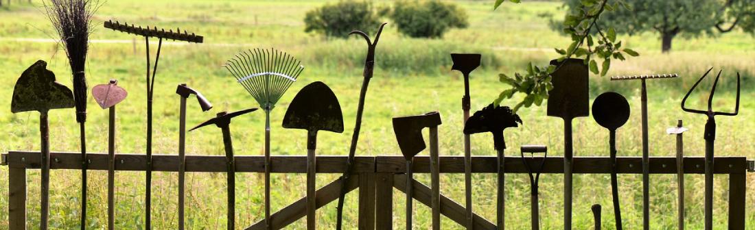 Tipos de ferramentas de jardinagem