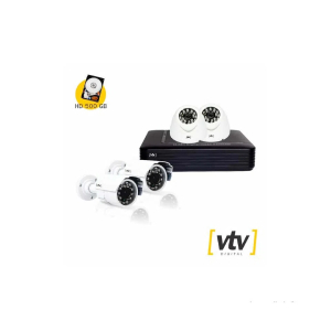 Kit com 4 câmeras
