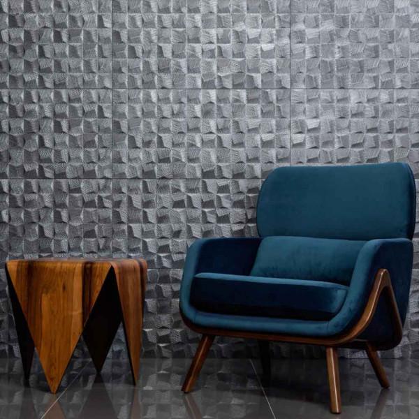 Kit-de-revestimento-de-parede-decorado-Cube-Silver-acetinado-retificado-45x90cm-2-pecas-prata-Eliane