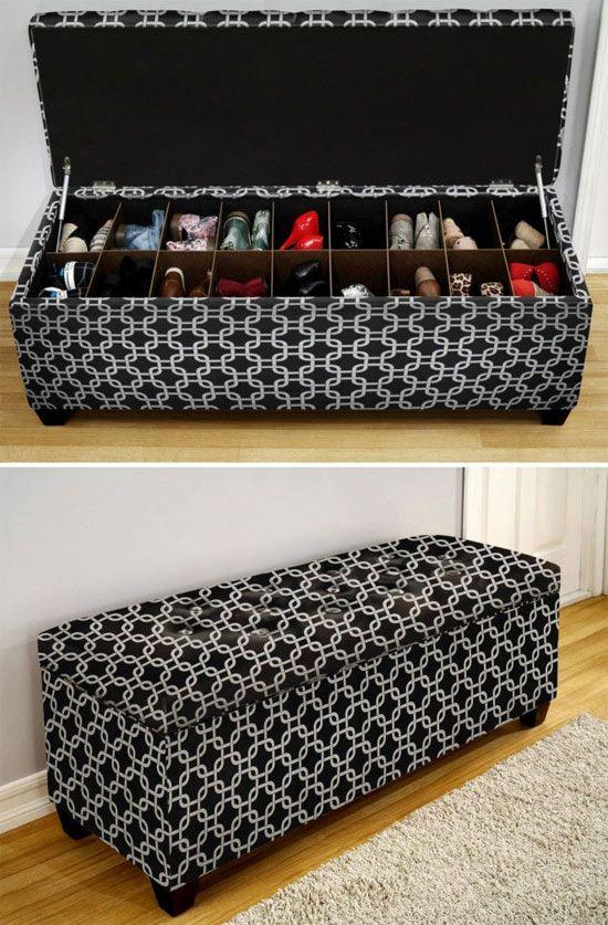 Como organizar um closet simples