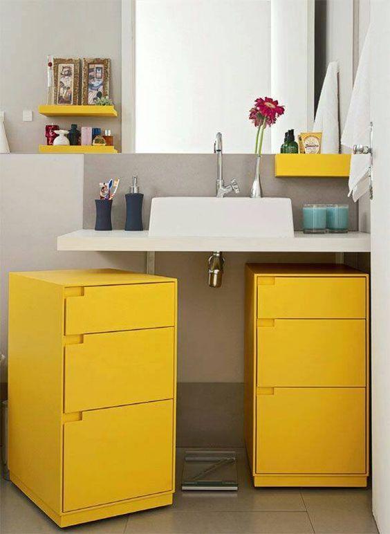 gabinete-para-banheiro-de-rodinhas-amarelo-pinterest