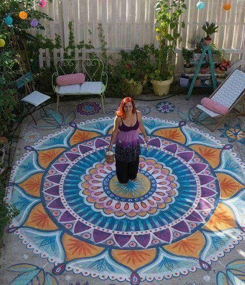piso-cimento-pintado-colorido