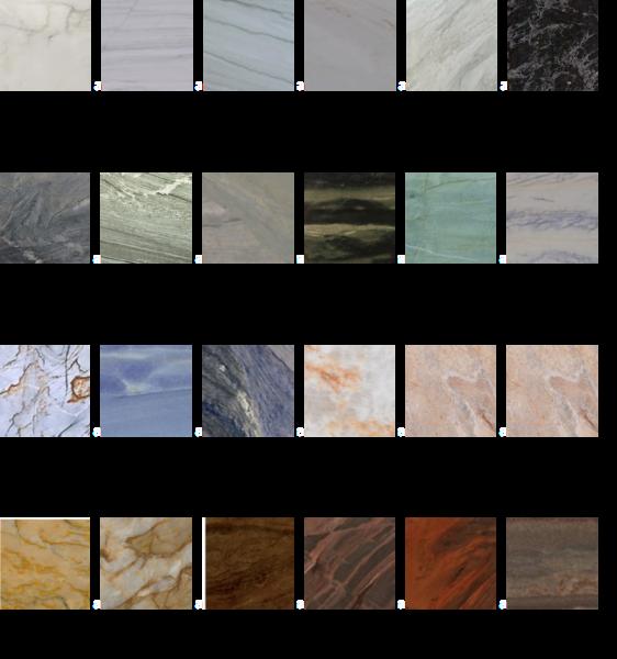 quartzito-cores