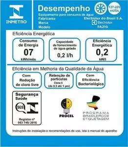 selo-inmetro-purificador-agua-eficiencia-filtro-capacidade-abnt-nbr