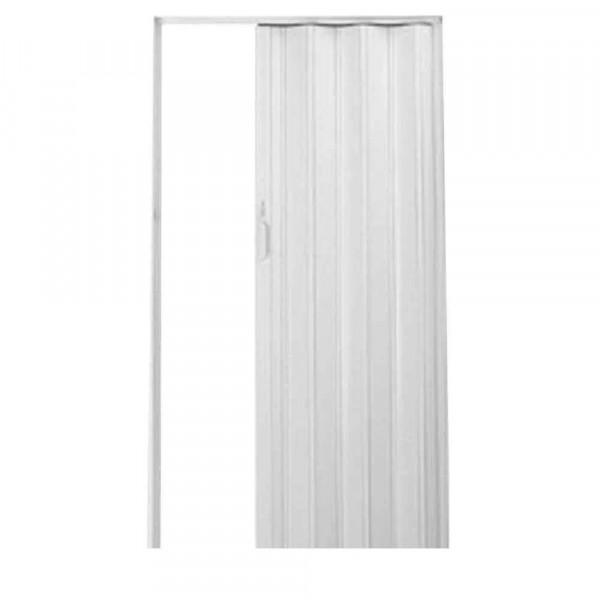 Porta-sanfonada-de-PVC-Plast-210x72cm-com-trinco-branca-BCF