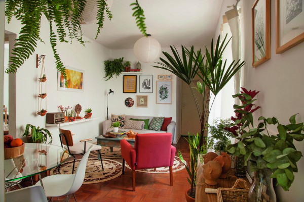 plantas-vasos-urban-jungle-sala-de-estar