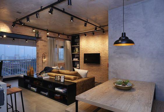 sala-estilo-industrial-spot-luz