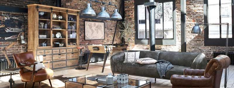 estilo-industrial-sala-moveis-decoracao-madeira-tijolos