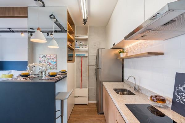 Cozinha-pendente-sobre-bancada