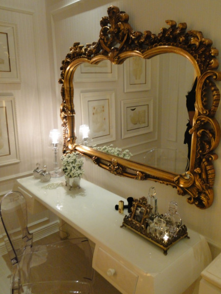 espelho vintage-espelho retro-penteadeira-inspiracao