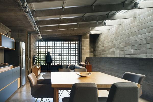 cozinha-estilo industrial-