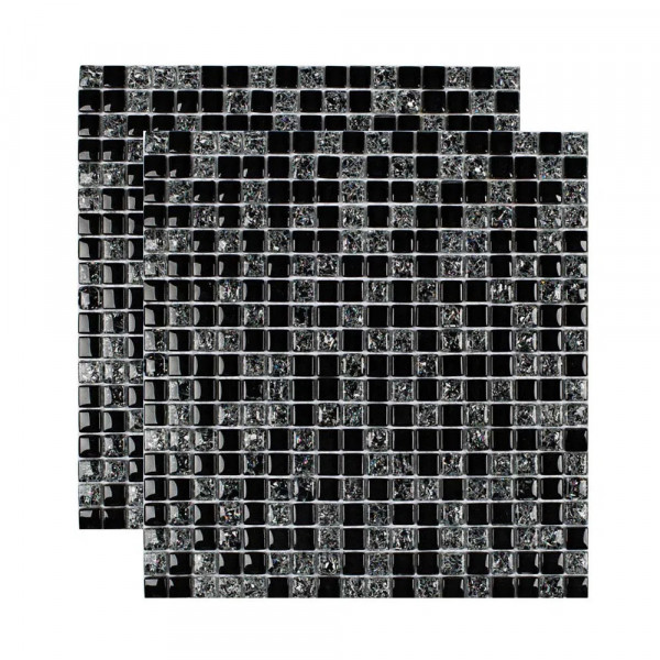 Pastilha-de-vidro-Galliano-placa-30x30cm-preto-Glass-Mosaic