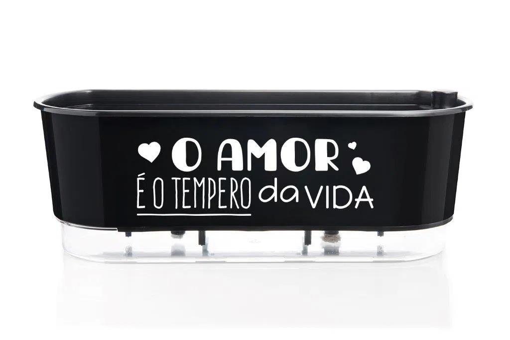 Jardineira-Autoirrigavel-O-Amor-e-o-Tempero-da-Vida-Alt-14cm-X-Larg-40cm-Preto-1635344