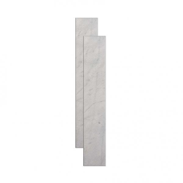 Soleira de mármore 82x14cm branco Granífera