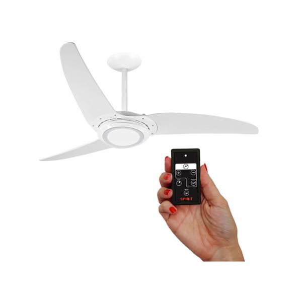 Ventilador-de-teto-Led-repelente-com-controle-3-pas-220V-130W-branco-Spirit