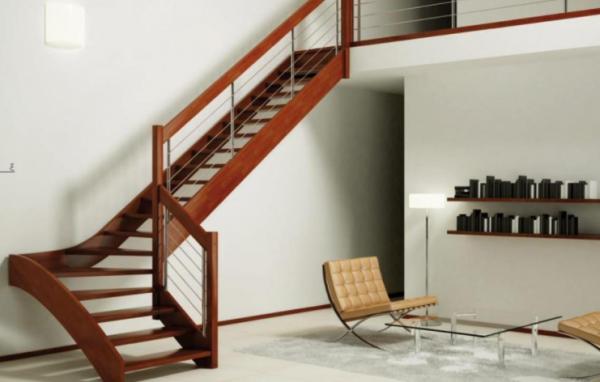 escada-em-L-vazada-de-madeira-rústica