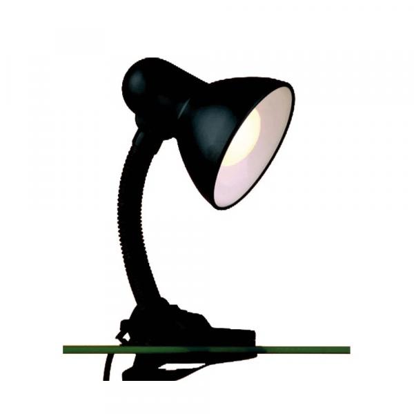 Luminária-Versaty-garra-de-aço-E27-40W-pretaBronzearte