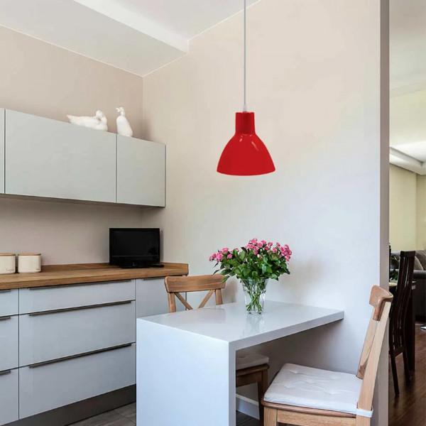 Pendente-Design-TD622-para-1-lampada-E27-vermelho-Taschibra