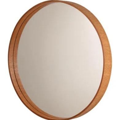Espelho-Formacril-redondo-com-moldura-de-madeira-A--45-cm-X-C--45-cm-Mogno-1642081
