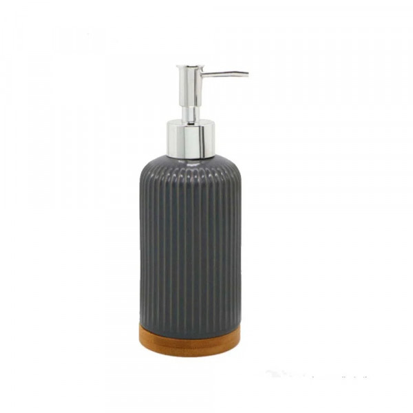 Porta-sabonete-liquido-de-bancada-poliresina-e-bamboo-Coisas-e-Coisinhas